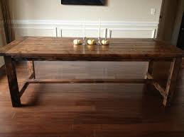 Rustic Dining Room Table Plans Build Dining Room Table Diy Rustic Dining Table Images Home