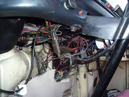the best auto electrician in the north west probably sick the bird s nest wiring under the dash of the sick bay no electrician fancied taking this on and who could blame them