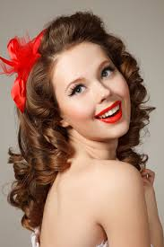 vine curly hairstyles that are really timeless pin up