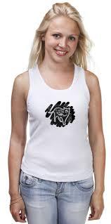 <b>Майка классическая Кот</b> Крыш #2183318 от tanyazet по цене 656 ...