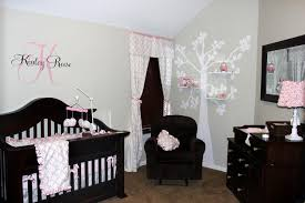 baby girls nursery love the dark furniture with the light walls if i cant paint this is a great way to make a nursery look very homey pinterest dark baby girls bedroom furniture