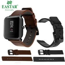 <b>Genuine Classic Leather Strap</b> For s2 Classic Amazfit Bip 20mm ...