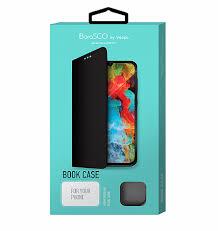 Чехол BoraSCO <b>Book Case для Xiaomi</b> Redmi 9 (черный ...