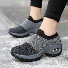 <b>women casual</b> mesh cushioned shoes at Banggood