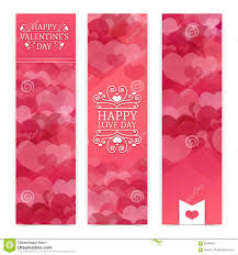 template design of vertical pink banners brochures coupons template design of vertical pink banners brochures coupons a pattern of hearts