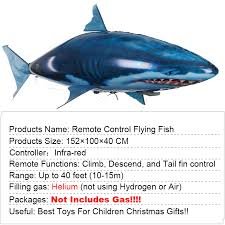 Toys Sports <b>Remote</b> Control <b>Flying</b> Air Balloons Shark Air Swimming ...