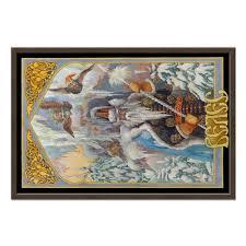 Холст 50x75 <b>Велес</b>. Бог Мудрости и Богатства. #2599998 от ...