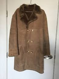Vintage Tan <b>Shearling Coat</b> | eBay