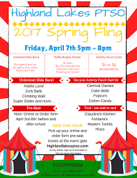 spring fling  and print and order form