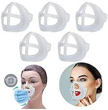 <b>3D</b> Mask Bracket - <b>Face Mask Inner</b> Support - Protect Lipstick Lips ...