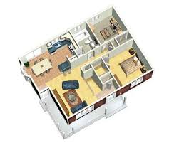 Cozy house  House plans and Small house plans on PinterestPlan PM  Cozy Two Bedroom House Plan