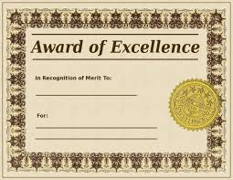 award certificate templates excel pdf formats