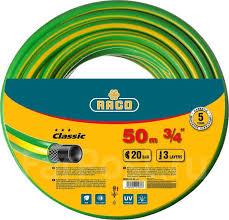 <b>Шланг RACO Classic</b> поливочный, 20атм., армированный, 3-х ...
