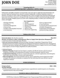 images about best logistics resume templates  amp  samples on    click here to download this administration logistics resume template  http     resumetemplates   com administration resume templates template