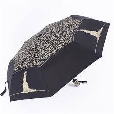 Automatic <b>3 Folding Anti</b>-<b>UV</b> Sun <b>Umbrella</b> Rain <b>Umbrella</b> Outdoor ...