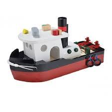 Sleepboot, <b>New Classic Toys</b> | Houten speelgoed, Speelgoed ...