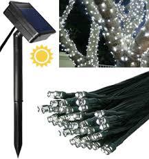 White <b>100 LED Solar</b> String <b>Lights</b> - Simply Stunning - NEW LOW ...