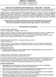 executive administrative assistant resume example download resume examples executive assistant