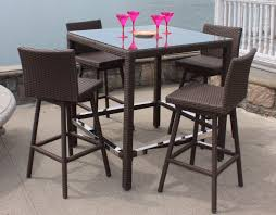 amish made poly classic patio quot high piece dining pub set brown set patio source outdoor