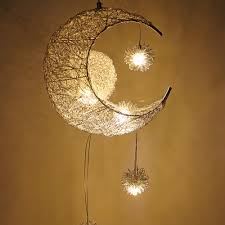 <b>Modern Pendant Ceiling Lamps</b> Moon Star Chandelier Hanging ...