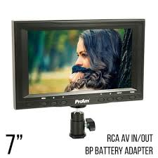 On Camera <b>LCD Video</b> Monitors – ProAm USA