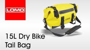 Lomo 15L Dry <b>Bike Tail Bag</b> - YouTube