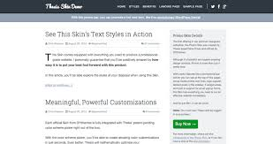 How To Find The Perfect WordPress Theme   A Bright Clear Web A Bright Clear Web Thesis Theme   Promo Skin