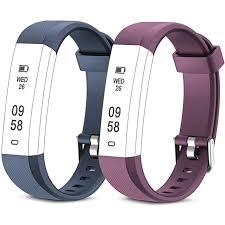 Flenco ID115U HR <b>Replacement</b> Straps <b>Watch Band Replacement</b> ...