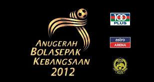 Anugerah Bola Sepak Kebangsaan 2012