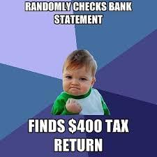 Tax Season Themed Internet Memes - BBR Marketing via Relatably.com