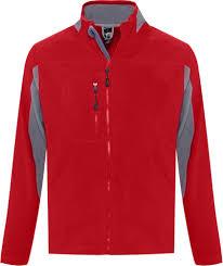 <b>Куртка мужская NORDIC красная</b> с нанесением логотипа в СПб ...