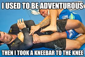 I used to be adventurous Then i took a kneebar to the knee - Misc ... via Relatably.com
