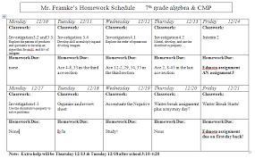 Slavens  th grade math  Past homework assignment sheets Slavens  th grade math Note  Extra help will be Thursday       amp  Tuesday      after school