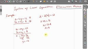 cxc csec maths how to solve simultaneous equations elimination cxc csec maths how to solve simultaneous equations elimination method