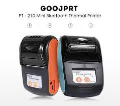 <b>GOOJPRT PT</b> - 210 58MM Bluetooth Thermal Printer Portable ...