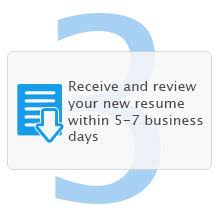 Social Service Resume Writing Service   iHireSocialServices     Step    Receive and review your new resume within     business days