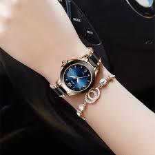 <b>SUNKTA Fashion Women</b> Watches Rose Gold Ladies Bracelet ...