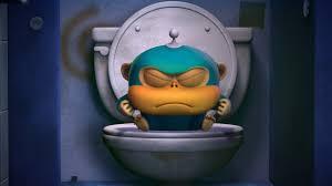 Обезьянки из космоса (Alien Monkeys) - Ванная комната (5 серия ...