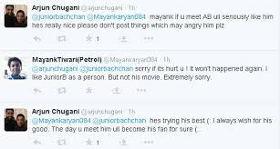 Abhishek Bachchan combats Twitter user for via Relatably.com