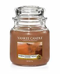 <b>Свеча ароматическая</b> Yankee Candle Теплый ветер пустыни ...