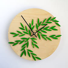 <b>Kitchen clock</b> Wooden <b>Clock Kitchen</b> wall <b>clock</b> от HappyTimeClock ...