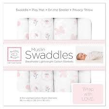 <b>swaddle designs</b> комплект больших муслиновых пеленок бабочки