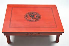 korean dining table folding legs rectangle 8060cm living room antique tea table traditional korean asian style furniture korean antique style 49