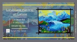<b>Landscape Painting</b> On <b>Canvas</b>