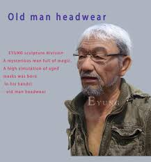 <b>EYUNG Old William Good</b> Quality Realistic Silicone Face, Old Man ...