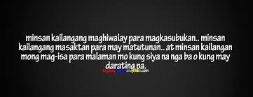 Best Pinoy Quotes: FB Covers - Tagalog Quotes and Jokes 01 via Relatably.com