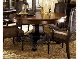 Names Of Dining Room Furniture Pieces Tommy Bahama Home Bali Hai Tropical Double Pedestal 7 Piece Dining
