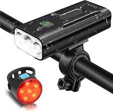 OCOOPA <b>Bike</b> Lights Set Rechargeable, 5200mAh USB <b>Bicycle</b> ...