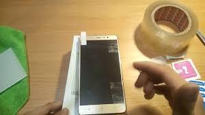 как наклеить защитное стекло на телефон / как клеить стекло на ...