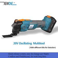 NEWONE <b>20V</b> Anti Vibration <b>Oscillating Multitool Quick Release</b> ...